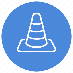 block, construction, media, movies, player, under, vlc icon