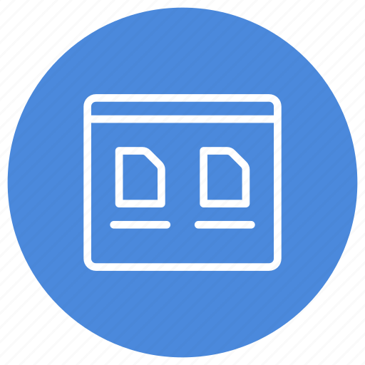 configuration, custom, interface, large, large icons, mode, view icon