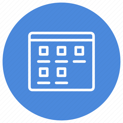 configuration, custom, interface, medium, medium icons, mode, view icon