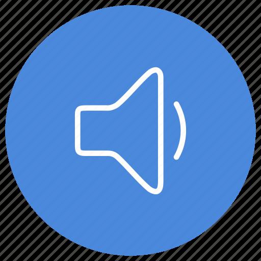 audio, decrease, down, low, sound, speaker, volume icon