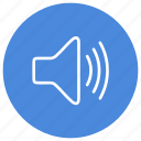 audio, high, increase, sound, speaker, up, volume icon