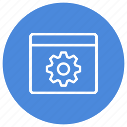configuration, gear, options, preferences, settings, window icon