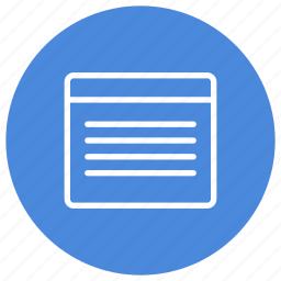 content, document, paper, read, text, window icon