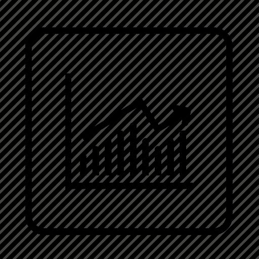 analysis, analytics, business, calculation, chart, data, diagram, finance, graph, graphic, information, line graph, mathematical, statistics, structure icon