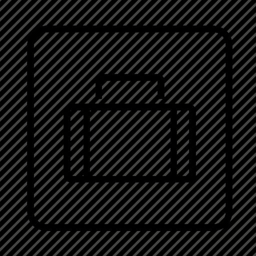 bag, box, boxes, briefcase, business, button, finance, images, money, profile, suitcase, user, user details, user profile icon