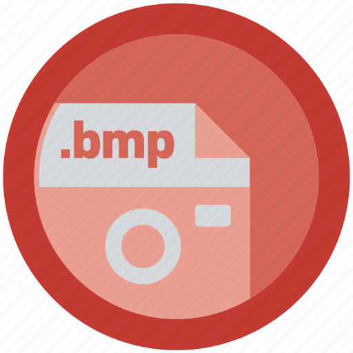 bmp, document, extension, file, format, round, roundettes icon