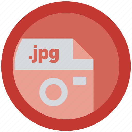 document, extension, file, format, jpg, round, roundettes icon