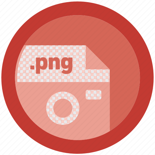 document, extension, file, format, portable network graphic, round, roundettes icon