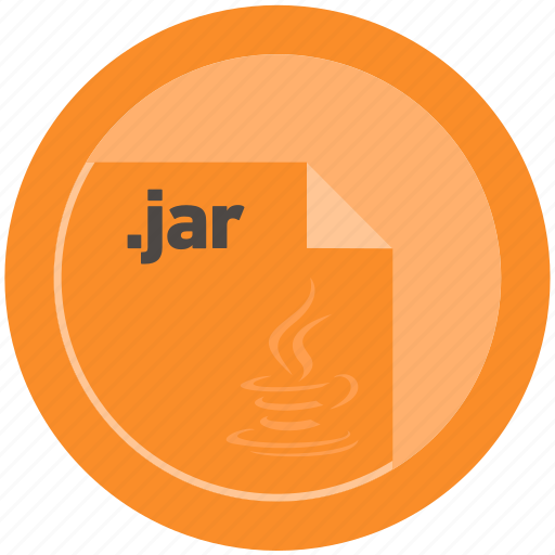 document, extension, file, format, jar, round, roundettes icon