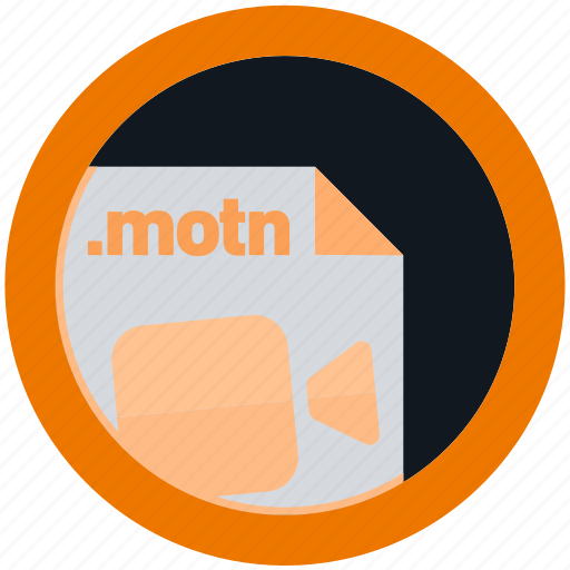 document, extension, file, format, motn, round, roundettes icon