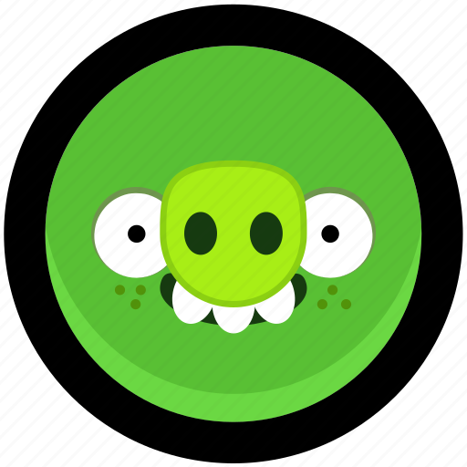 angry birds, bad, game, piggies icon