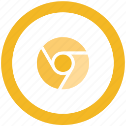 canary, chrome, google icon