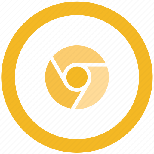 canary, chrome, google icon