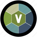 civilization, game, v icon