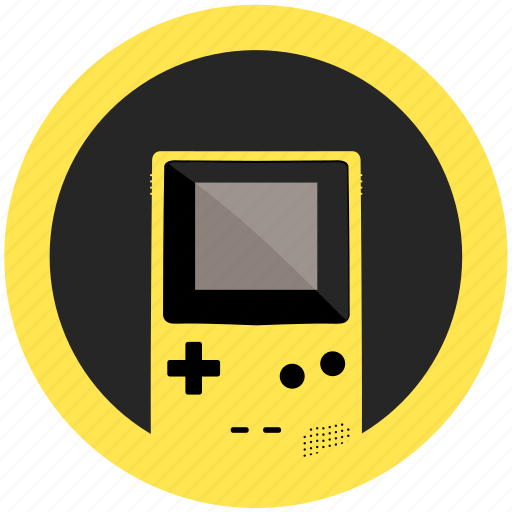 color, console, dandelion, emulator, game, gameboy, mobile icon