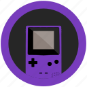 color, console, emulator, game, gameboy, grape, mobile icon