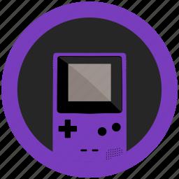 color, console, emulator, game, gameboy, grape, mobile icon