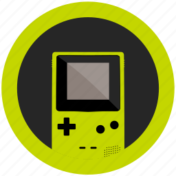 color, console, emulator, game, gameboy, kiwi, mobile icon