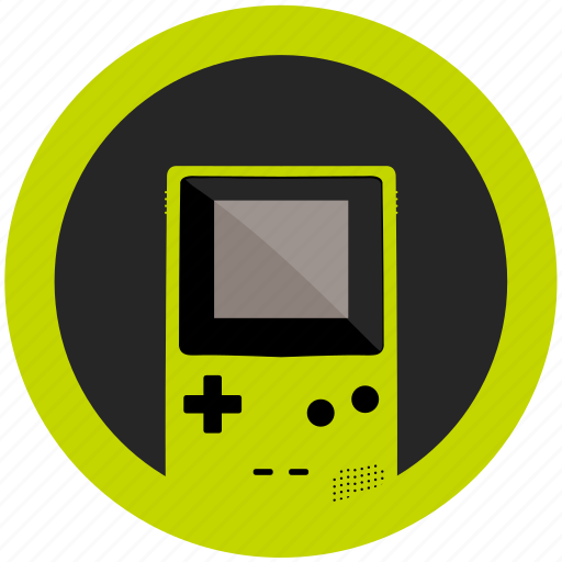 color, console, emulator, game, gameboy, kiwi, mobile icon