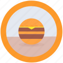 delicious, food, hamburger icon