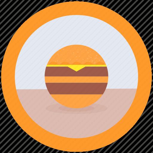 delicious, food, hamburger icon