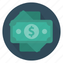 bank, cash, dollar, investment, money, profit, save icon