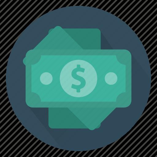 bank, cash, dollar, investment, money, profit, save icon
