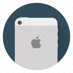 apple, back, device, iphone, phone, smartphone icon