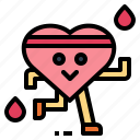 health, heart, relax, sun icon