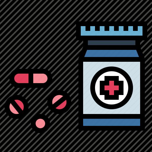 drug, medicine, pills, wellness icon