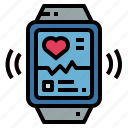 app, electronics, smartwatch, technology icon
