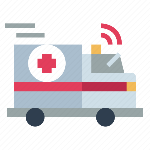 ambulance, car, emergency, hospital icon