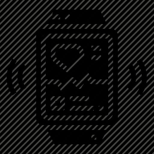 app, electronics, smartwatch, technology icon