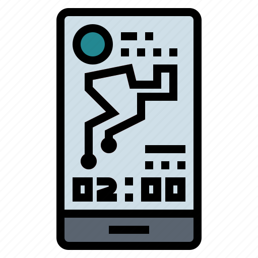 application, gps, smartphone, tracking icon