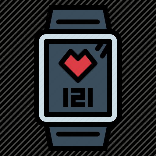 gadget, smart, sport, watch icon