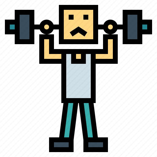 Dumbbell, fitness, training, weight icon - Download on Iconfinder