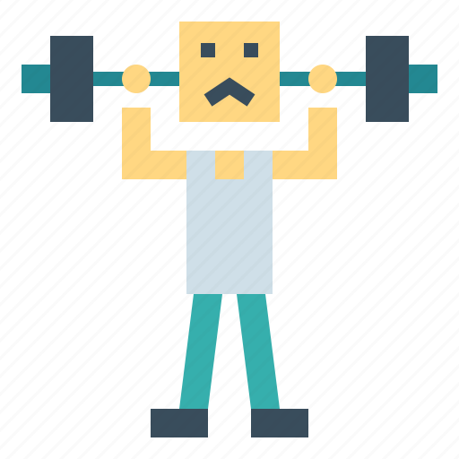 dumbbell, fitness, training, weight icon