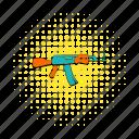 army, comics, gun, kalashnikov, military, rifle, weapon