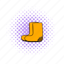 boot, comics, felt, russia, russian, winter, wool icon