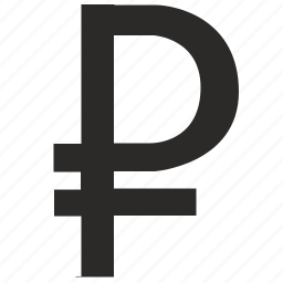 bank, banking, money, ruble, russia, sign, value icon