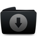 http://cdn1.iconfinder.com/data/icons/sabre/snow_sabre_black/128/folder_black_download.png