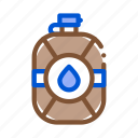 flask, safari, travel, water