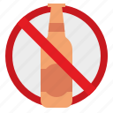 alcohol, drunk, forbidden, no, stop
