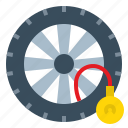 vehicle, safety, pressure, check, tire, wheel, auto icon