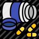 care, health, medical, medicine, pharmacy, prescription, treatment icon