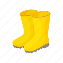 boot, protection, rain, rubber, safety, waterproof, weather icon