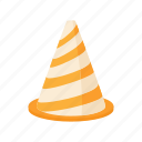 attention, cone, construction, danger, safety, stop, warning icon
