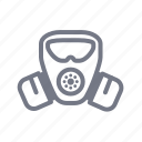 gas, mask, protection, safety icon