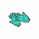 equipment, finger, gloves, hand, tool, tools, touch icon