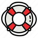 lifebuoy, lifeguard, help, rescue, lifesaver